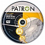 Диск DVD+R PATRON 8.5 GB 8x 10x1 CAKE BOX, Dual Layer (INS-D032)