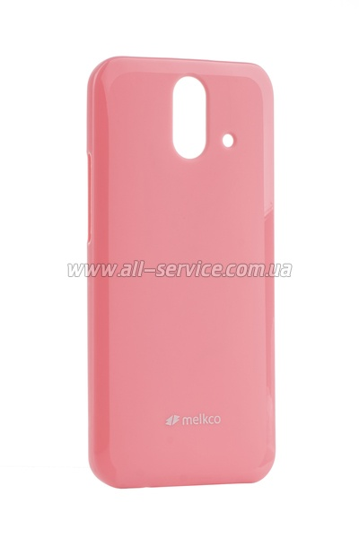 Чехол MELKCO HTC One E8 Poly Jacket TPU Pink