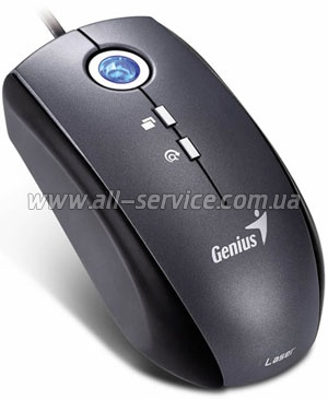 Мышь Genius Traveler 515 Laser USB Silver-Black 31011556100