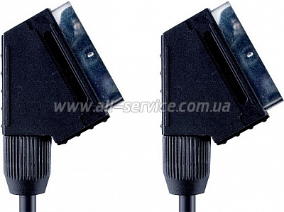 Кабель BANDRIDGE ValueLine VVL7001 SCART 1m