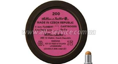 Патрон Флобера Sellier & Bellot Randz Curte 4 мм 200шт (V355332)