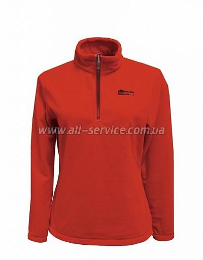 Женский пуловер Tramp Ая M Красный/Серый (TRWF-002)