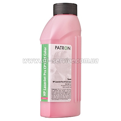 ТОНЕР HP LJ P CP1525 COLOR MAGENTA ФЛАКОН 45 г PATRON