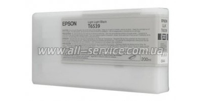 Картридж Epson StPro 4900 light light black, 200мл (C13T653900)