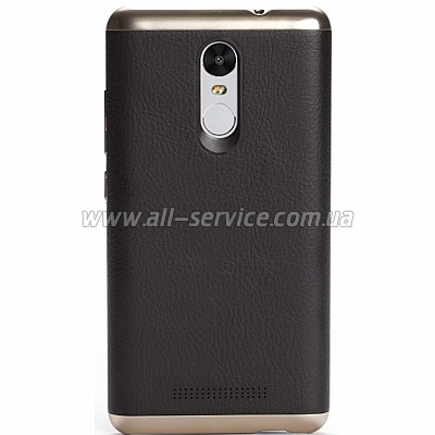 Чехол Xiaomi Note 3 Leather Brown 1155100016