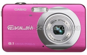 Цифровой фотоаппарат Casio Exilim EX-Z80 pale pink