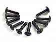 3*12 Cap Head Tapping Screws 10P