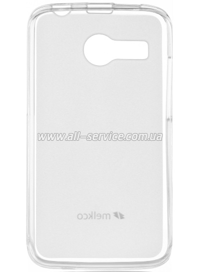 ����� MELKCO HTC One M8 Poly Jacket TPU Transparent
