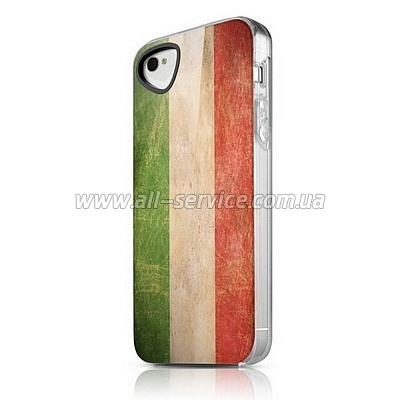 ����� ITSKINS Phantom for iPhone 4/iPhone 4S Italy (AP4S-PHANT-ITLY)