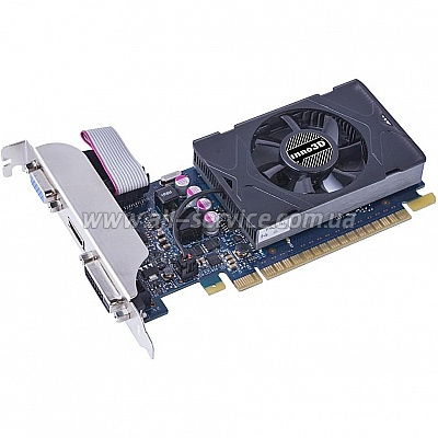 Видеокарта Inno3D GeForce GT730 1Gb DDR5 LP (N730-3SDV-D5BX)