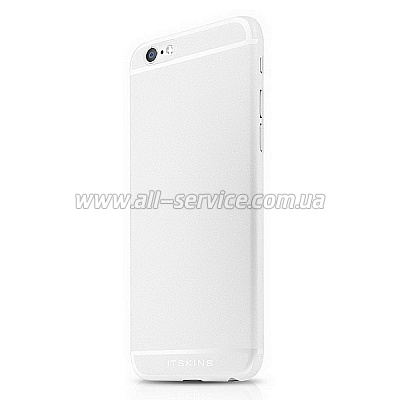 Чехол ITSKINS ZERO 360 for iPhone 6 Plus White (AP65-ZR360-WITE)