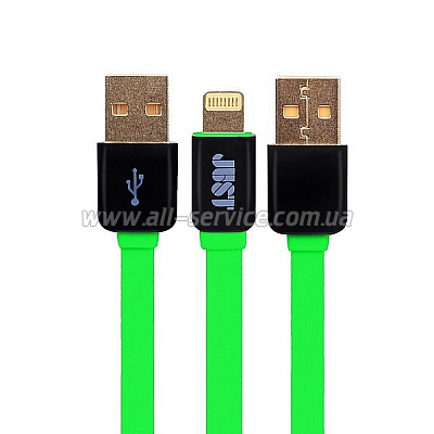 ������ JUST Rainbow Lightning USB Cable Green (LGTNG-RNBW-GRN)