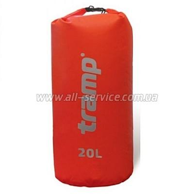 Гермомешок Tramp Nylon PVC 20 Красный (TRA-102)