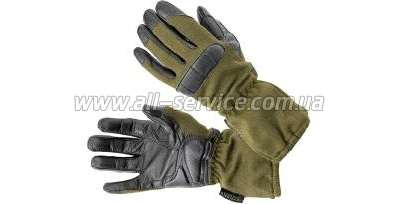 �������� Defcon 5 GUANTO LONG NOMEX WITH ANTIBACTERIALGOATSKIN PALM LEATHER OD GREEN M olive drab (D5-GL2008 OD/M)