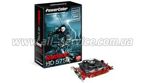 Видеокарта Powercolor 5750 512MB DDR5 (AX5750_512MD5-H)