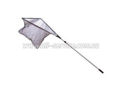 Подсака металлическая Lineaeffe AttaccoRapido раскладная длина 2.0мголова 50х57см сетка 6мм (6102320)
