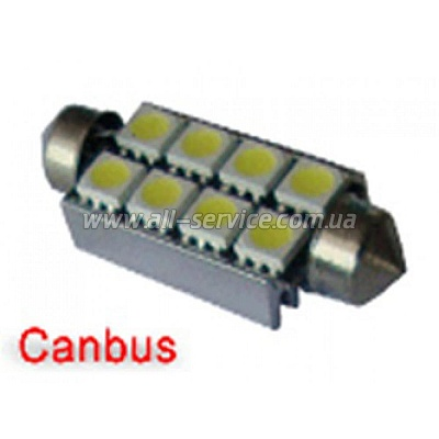Габарит IDIAL 450 T10 8Led 5050 SMD CAN (2шт)