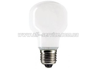 Лампа накаливания Philips E27 60W 230V T45 WH 1CT/10X10F Soft (921432744205)