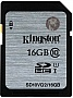Карта памяти 16GB Kingston SDHC Class 10 UHS-I (SD10VG2/16GB)