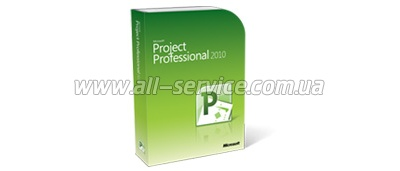 ПО Microsoft Project Pro 2010 32-bit/ x64 Russian DVD BOX (H30-02683)