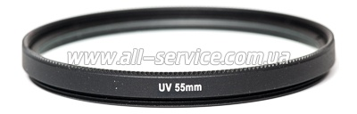 Светофильтр PowerPlant UV 55 мм (UVF55)