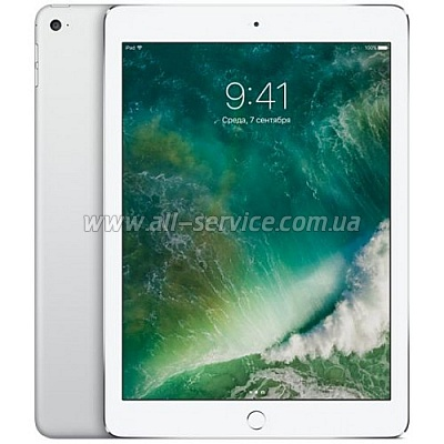 Планшет Apple A1567 iPad Air 2 Wi-Fi 4G 32Gb Silver (MNVQ2TU/A)