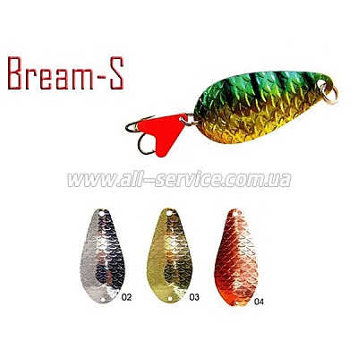 Блесна Fishing Roi  Bream-S 16гр. 6,4см. цвет-04 (C027-3-04)