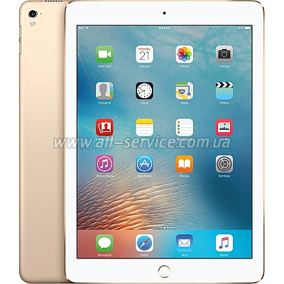 Планшет Apple A1674 iPad Pro 9.7-inch Wi-Fi 4G 32GB Gold (MLPY2RK/A)