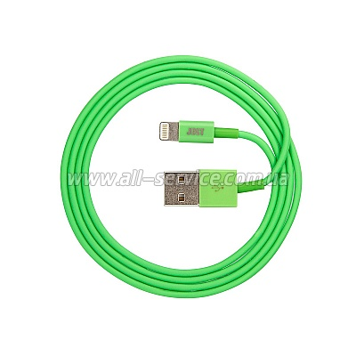 Кабель JUST Simple Lightning USB Cable Green 1M (LGTNG-SMP10-GRN)