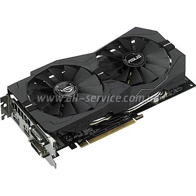 Видеокарта ASUS AMD PCI-E STRIX-RX470-O4G-GAMING (90YV09J2-M0NA00)