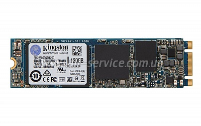 SSD накопитель M.2 Kingston 120GB 2280 SATA (SM2280S3G2/120G)