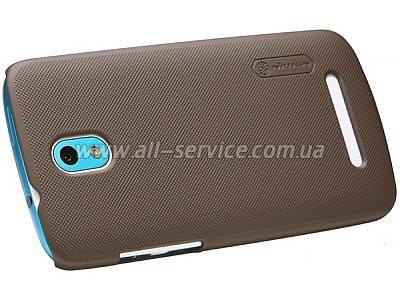 Чехол NILLKIN HTC Desire 501 - Super Frosted Shield (Brown)
