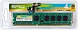 Память 4Gb SILICON POWER DDR3 1333Mhz БЛИСТЕР SP004GBLTU133N02