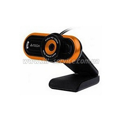 Web камера А4Tech PK-920H-2 HD black/orange