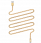 Кабель JUST Copper Micro USB Cable 2M Gold (MCR-CPR2-GLD)
