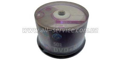 DVD+R L-PRO 4.7 GB/120 min 16x (50 pcs Cake Box, 139052)