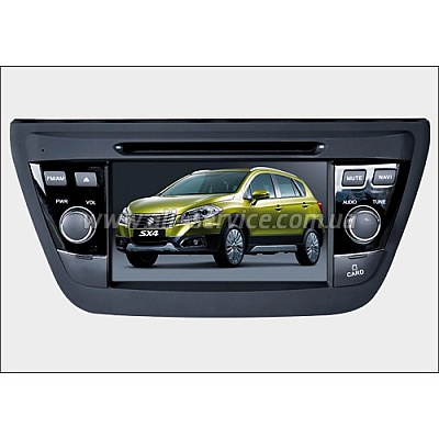 ������� ��������� Phantom DVM-5044G iS Suzuki SX4 New 2014