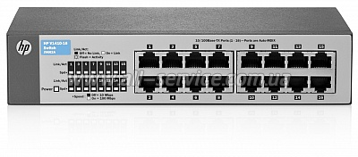 Коммутатор HP V1410-16 Switch (J9662A)