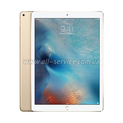Планшет Apple A1652 iPad Pro 12.9-inch Wi-Fi 4G 256GB Gold (ML2N2RK/A)