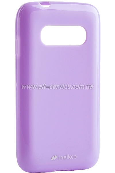 Чехол MELKCO Samsung G310/Ace 4 Poly Jacket TPU Purple