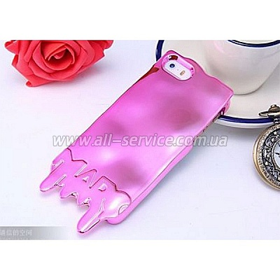 Чехол MARC JACOBS Fashion Melt Case for iPhone 5/5S/SE Pink (MJ-MELT-PINK)