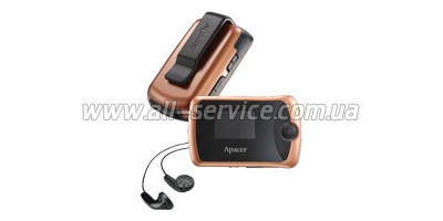 MP3 ����� Apacer Audio Steno AU380 2Gb (AP2GAU380O-S)