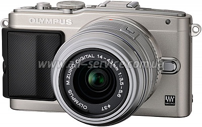 Цифровой фотоаппарат OLYMPUS E-PL5 14-42 mm Flash Air silver/silver (V205041SE010)