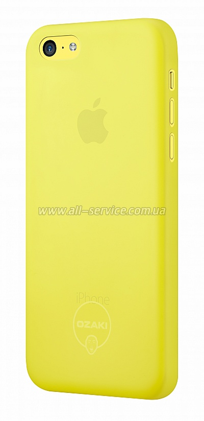 Чехол OZAKI O!coat-0.3 Jelly iPhone 5C Yellow OC546YL