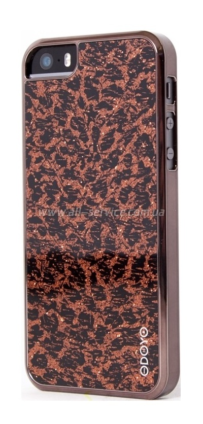 Чехол ODOYO GLAMOUR IPHONE 5/5S FLASH'IN LEOPARD PH382LD