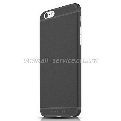 Чехол ITSKINS ZERO 360 for iPhone 6 Plus Black 1 (AP65-ZR360-BLK1)