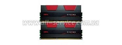 Память DDR3 8Gb PC17000/2133 (2x4GB) CL11 Geil EVO TWO (GET38GB2133C11DC)