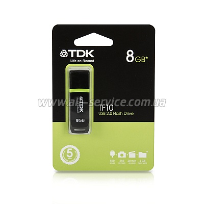 Флешка 32GB TDK TF10 Black (5956424)