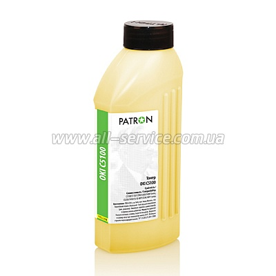 ТОНЕР OKI C5100 YELLOW ФЛАКОН 160 г PATRON