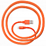 Кабель JUST Freedom Lightning USB (MFI) Cable Orange (LGTNG-FRDM-RNG)